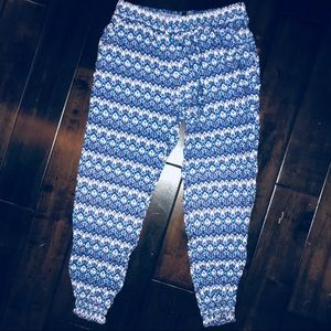 Patterned Pants/ Joggers